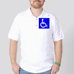 Handicap Sign Golf Shirt