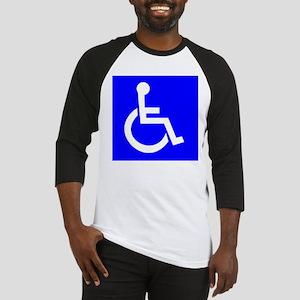 Handicap Sign Baseball Jersey