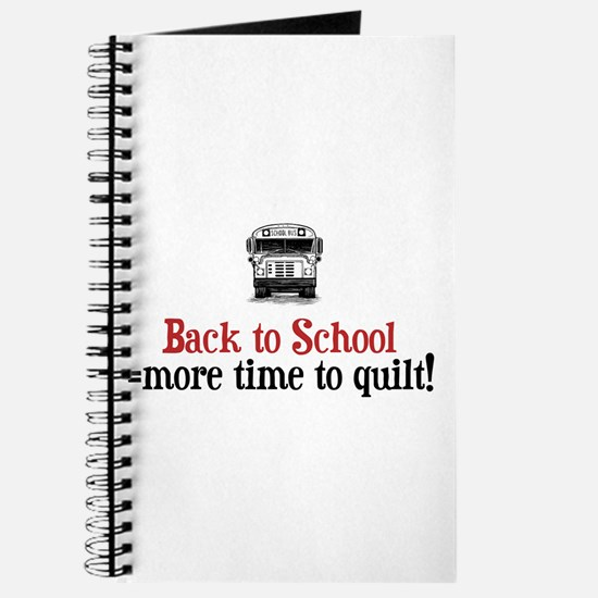 Back to School - Time to Quil Journal