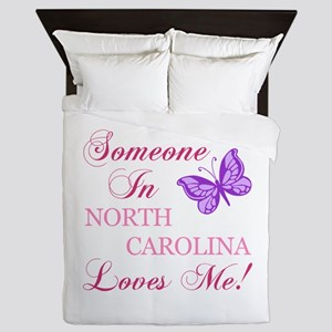 North Carolina State (Butterfly) Queen Duvet
