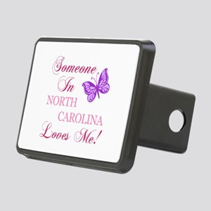 North Carolina State (Butterfly) Rectangular Hitch