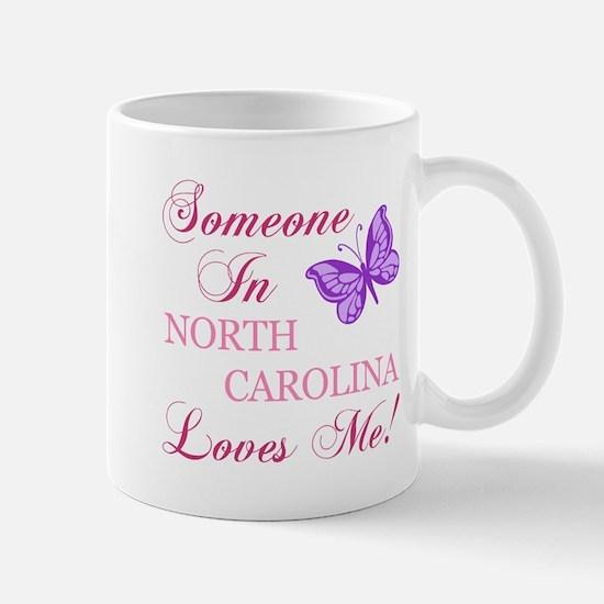 North Carolina State (Butterfly) Mug