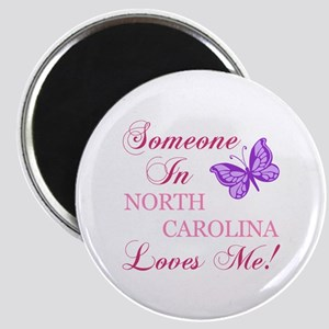 North Carolina State (Butterfly) Magnet