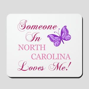 North Carolina State (Butterfly) Mousepad