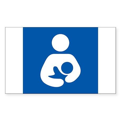 Breastfeeding Symbol Sticker