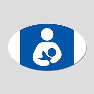 Breastfeeding Symbol Wall Decal