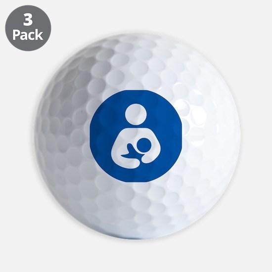 Breastfeeding Symbol Golf Ball