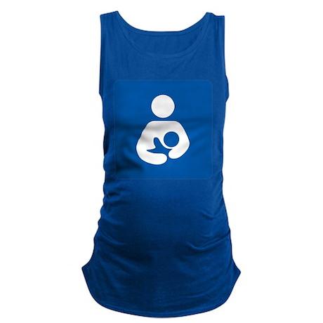 Breastfeeding Symbol Maternity Tank Top