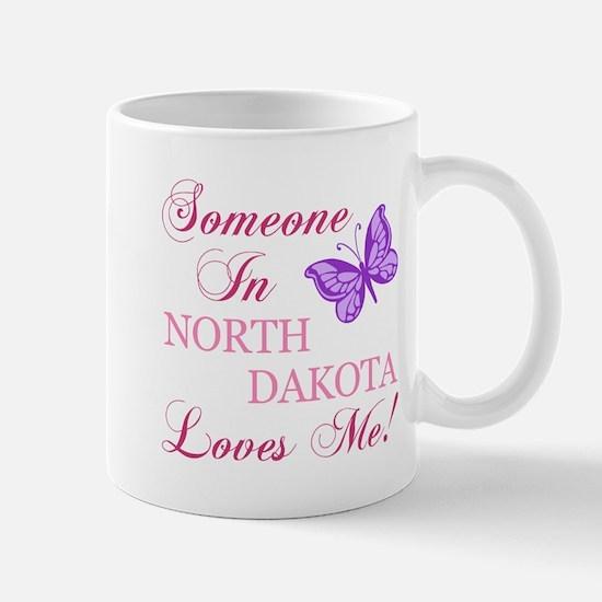 North Dakota State (Butterfly) Mug