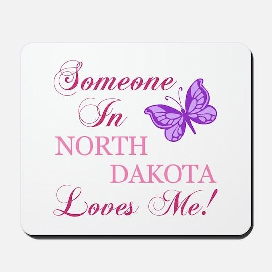 North Dakota State (Butterfly) Mousepad