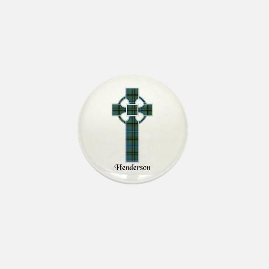 Cross - Henderson Mini Button