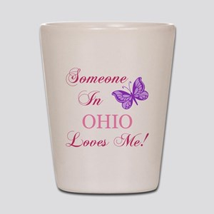Ohio State (Butterfly) Shot Glass