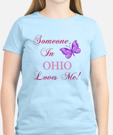 Ohio State (Butterfly) Women's Light T-Shirt