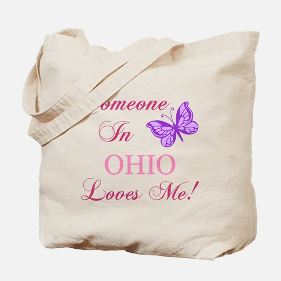 Ohio State (Butterfly) Tote Bag