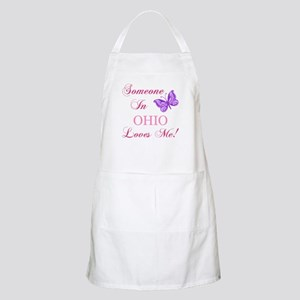 Ohio State (Butterfly) Apron