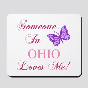 Ohio State (Butterfly) Mousepad