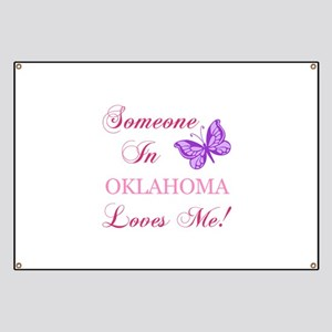 Oklahoma State (Butterfly) Banner