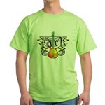 Rock! Guitar Green T-Shirt