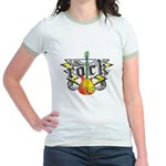 Rock! Guitar Jr. Ringer T-Shirt