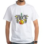 Rock! Guitar White T-Shirt
