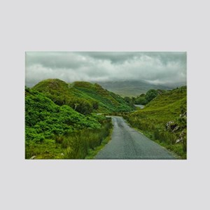 Scottish Hills Rectangle Magnet