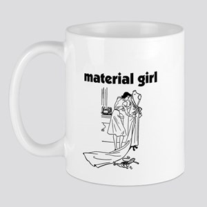Material Girl - Sewing Mug