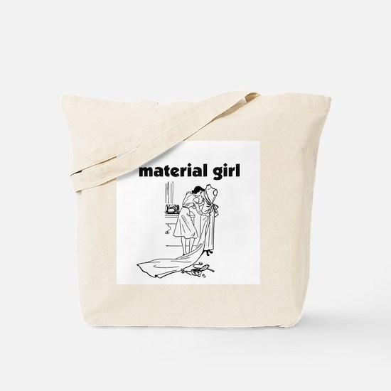 Material Girl - Sewing Tote Bag