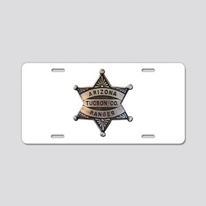 Tucson Company Arizona Rangers Aluminum License Pl