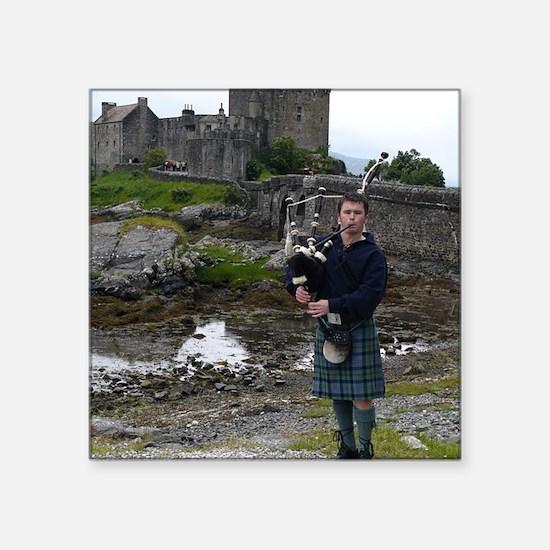 "Eilan Donan Castle Square Sticker 3"" x 3"""