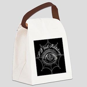 JD Web Publishing Inverted Design Canvas Lunch Bag