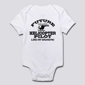 Future Helicopter Pilot Like My Grandpa Infant Bod