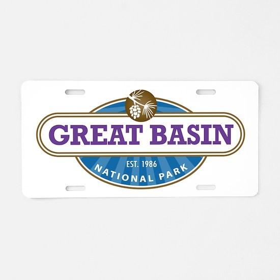 Great Basin National Park Aluminum License Plate