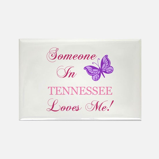 Tenessee State (Butterfly) Rectangle Magnet