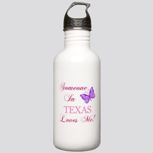 Texas State (Butterfly) Stainless Water Bottle 1.0