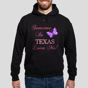 Texas State (Butterfly) Hoodie (dark)