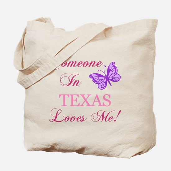 Texas State (Butterfly) Tote Bag