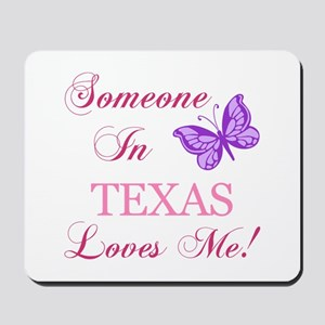 Texas State (Butterfly) Mousepad