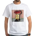 Will Work For Manure White T-Shirt