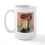 Will Work For Manure Large Mug