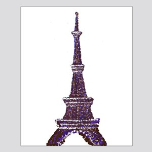 Eiffel Tower Pointillism dots Posters
