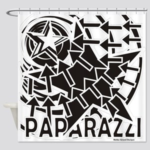 Paparazzi Shower Curtain