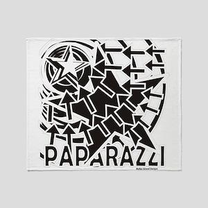 Paparazzi Throw Blanket