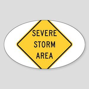 Severe Storm Area Sticker