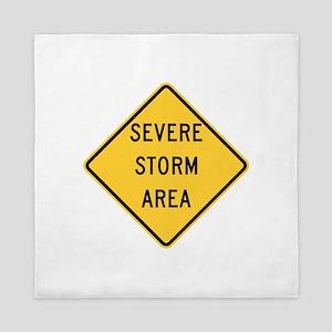 Severe Storm Area Queen Duvet