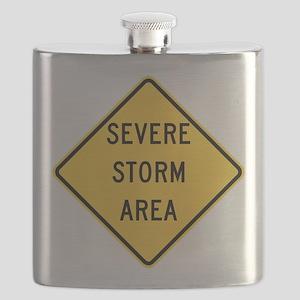 Severe Storm Area Flask