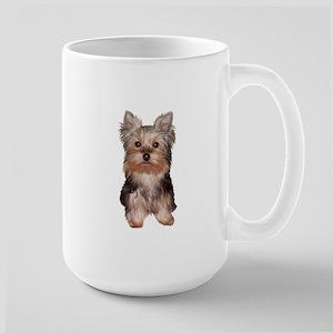 Yorkshire Terrier Puppy Large Mug