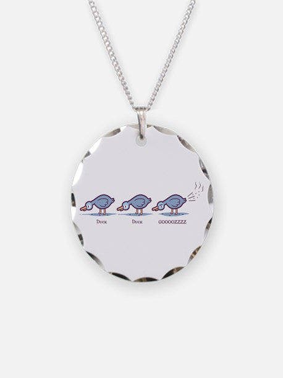 Duck Duck Gooz Necklace