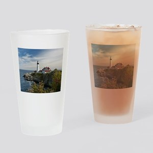 Portland Head Light Drinking Glass
