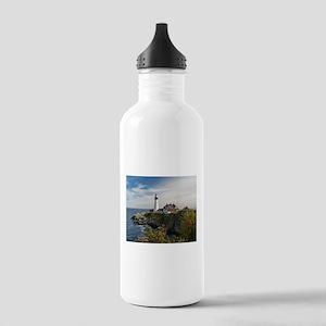 Portland Head Light Water Bottle