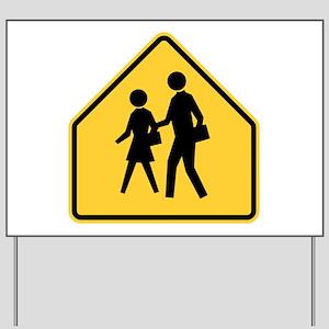 School Zone Yard Sign
